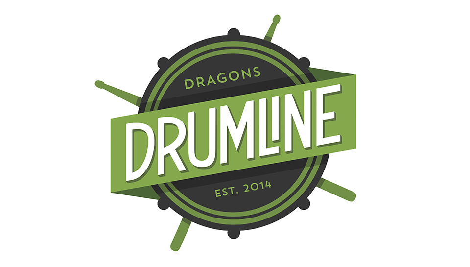 Dragons Drumline Logo