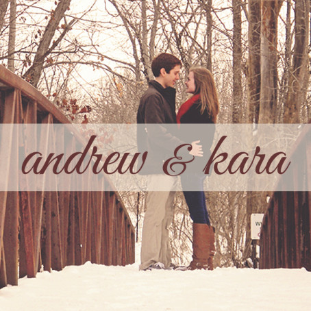 Kara & Andrew Wedding Site - Square